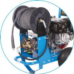 Large Trolley Hose Reel Kit 204-1007